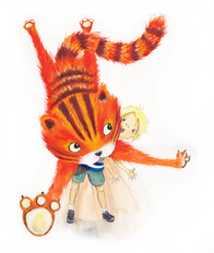 From 'Ginger Nut', Author Chani McBain Publisher Floris Books