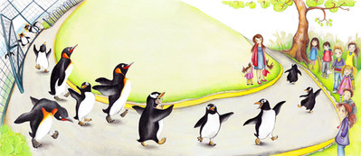 From 'Lost at the Zoo', Author Gill Arbuthnot, Publisher Floris Books