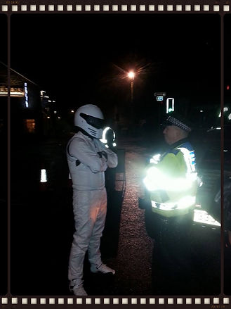 stig hire meets the police thrapston northants
