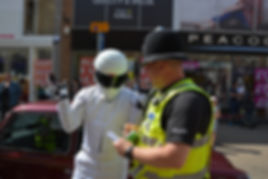 THE STIG GETTING A TICKING OFF IN KETTERING