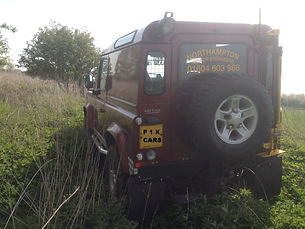 LAND ROVER NORTHAMPTONSHIRE