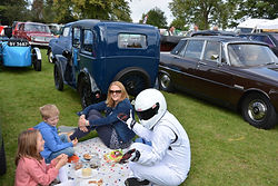 LUNCH WITH THE STIG