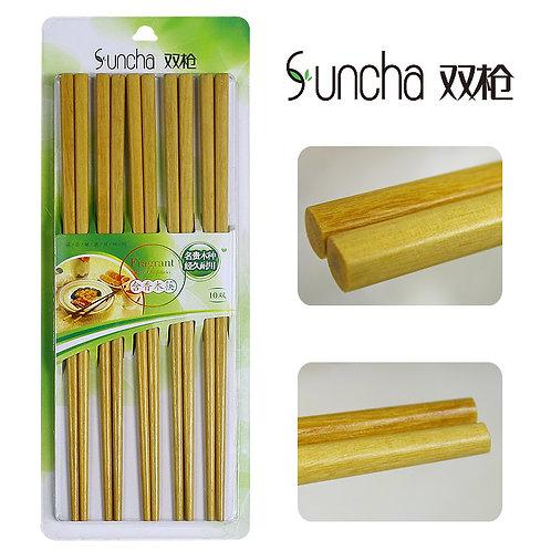 双枪竹筷10双装