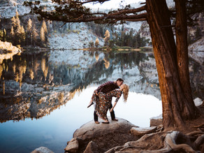 Engagement Photos in Lake Tahoe! - Adventure Wedding Photographer