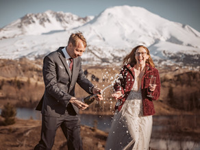 Paul and Catherine's Mt. St. Helens Elopement | Mindful Media Photography