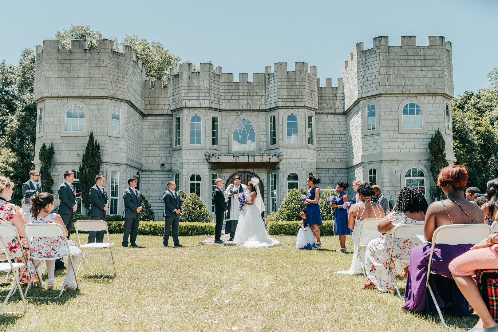 Florida Castle Wedding