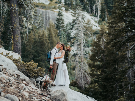 Eloping in Lake Tahoe - A story of a hiking elopement