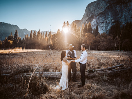How to Elope in Yosemite
