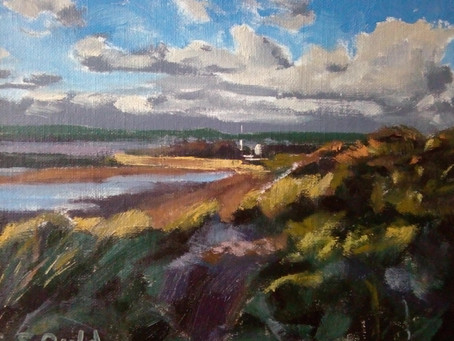 'Instow After a Storm' & 'Brooding Blackgang'