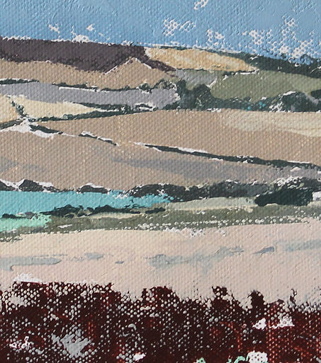 View of St Catherine's Down, Isle of Wight