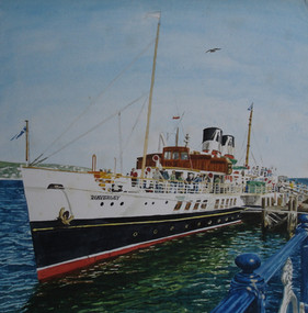 The Waverley at Swanage Pier