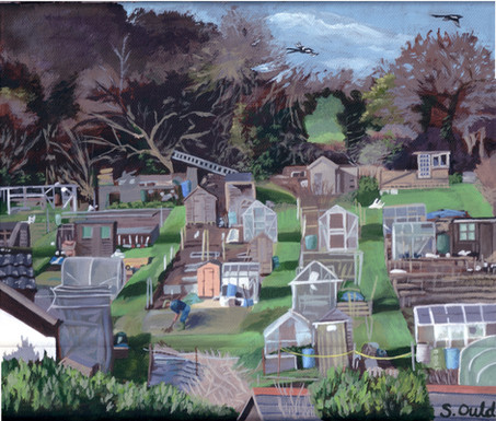 Scotscombe Allotment, Shanklin, Isle of Wight