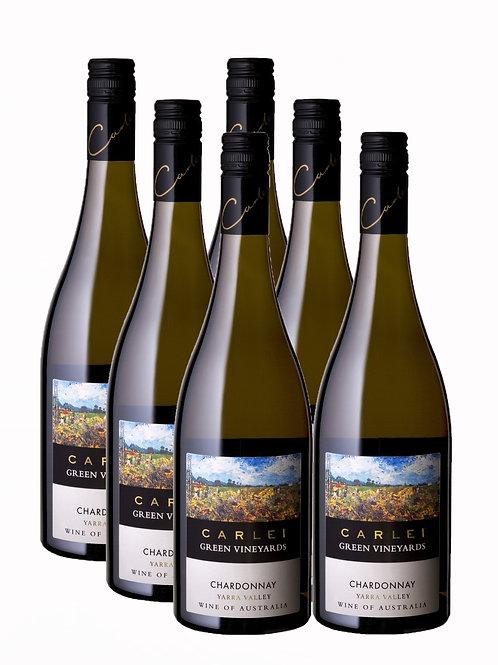 2007 Green Vineyards Chardonnay - 6 Pack