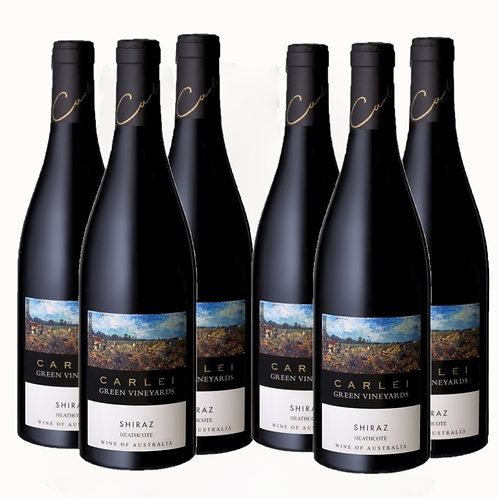 2018 Carlei Green Vineyards Shiraz, Heathcote - 6 Pack