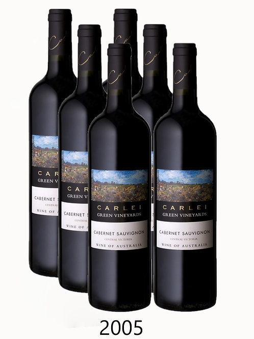 2005 Green Vineyards Cabernet Sauvignon - 6 Pack
