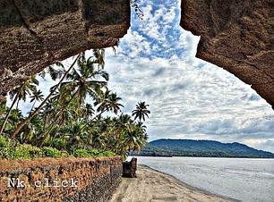 Revdanda Fort | Revdanda beach camping | alibaug beach | art of camping