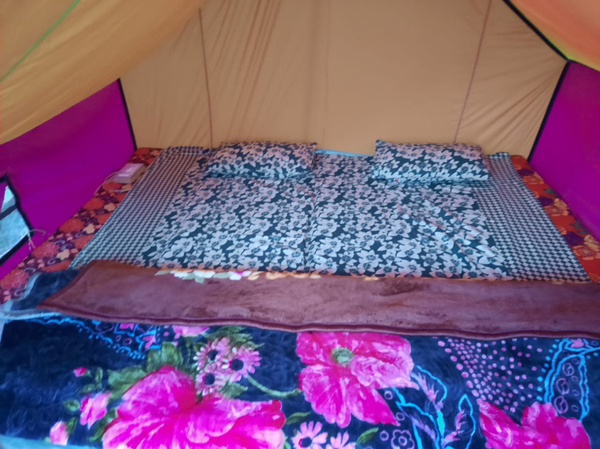 Tent Interior Kasol Camp | Art Of Camping