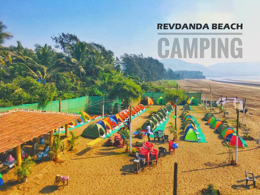 Revdanda Beach Camping | Alibaug Beach | Beachside stay, hotels, resorts Revdanda | Art Of Camping