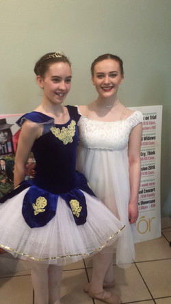 Senior Dancers support and friendship