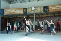 Jazz CLass in Romania with  Bridget Quinn Petzold