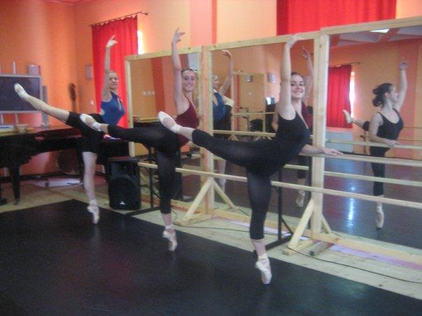 After Ballet class fun