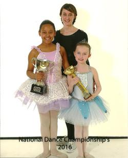Proud Ballet Teacher