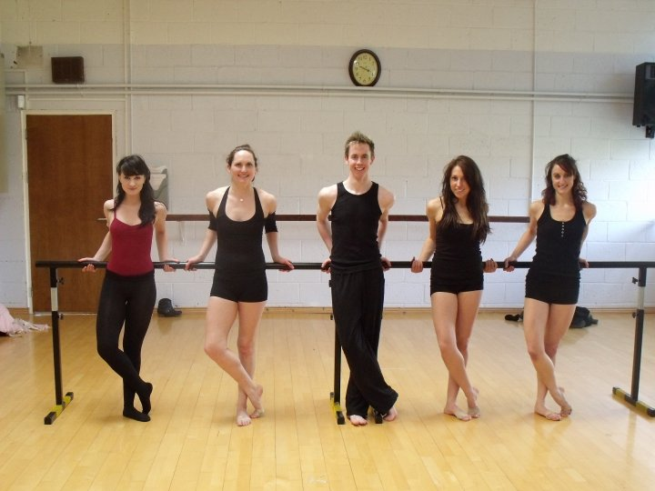 Rehearsing with Whynot Dance Company Lisa Tyrrell