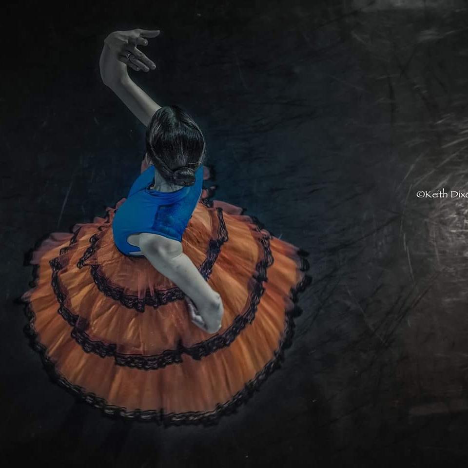 Studio rehearsals in Monica Loughman Elite Ballet - Rebecca fLynn