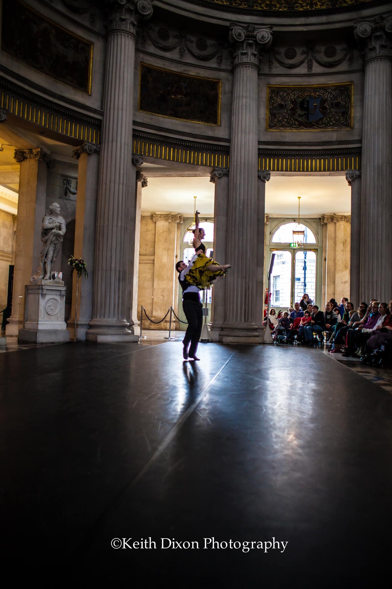 Rebecca and Turlough City Hall Performance