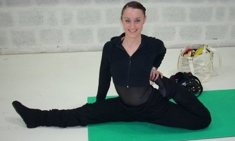 Rebecca FLynn - My daily warm up in Salsburg