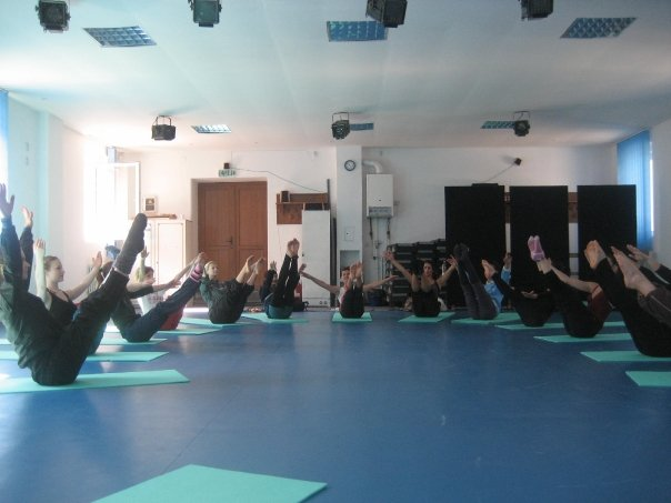 Pilates was central all our training