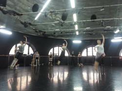 Company Ballet Class