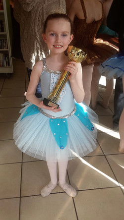 Under 9yrs 2nd Place Ballet Soloist