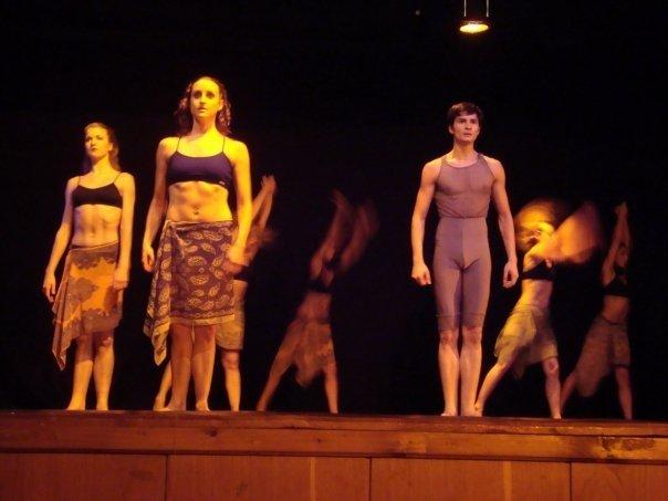 Afircan Jazz Performnace choreographed by Karen Savage in Romania
