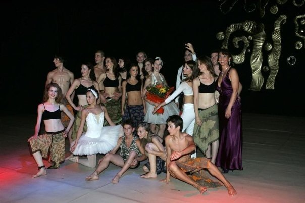 Gala performance in Bucharest, Romania