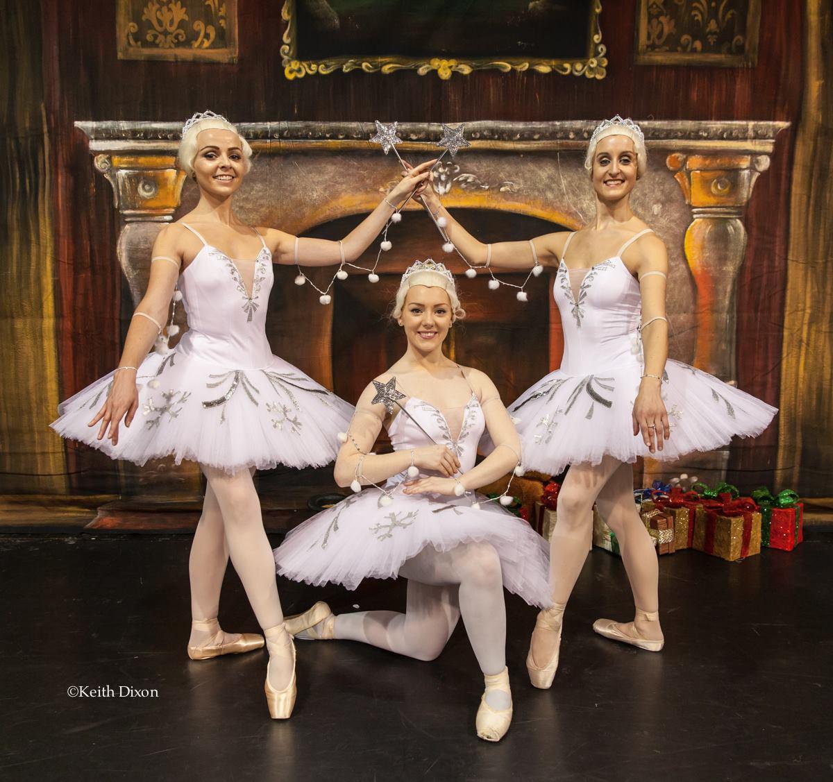 Snowflakes - Rebecca FLynn, Liane Whelan and Sarah Whelan