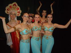 Nutcracker Arbabian Dancers -Rebecca, Leanne and Liane