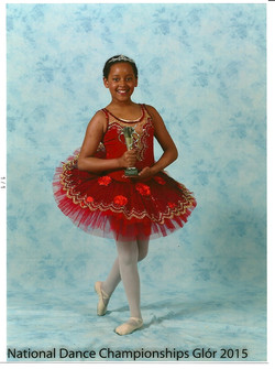 Katie - Silver Medalist in Ballet Solos