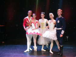 Meeting  famous ballerinas Melissa Hamilton, Dawid Trzensimiech, Denis Veginiy and Katherina Markows