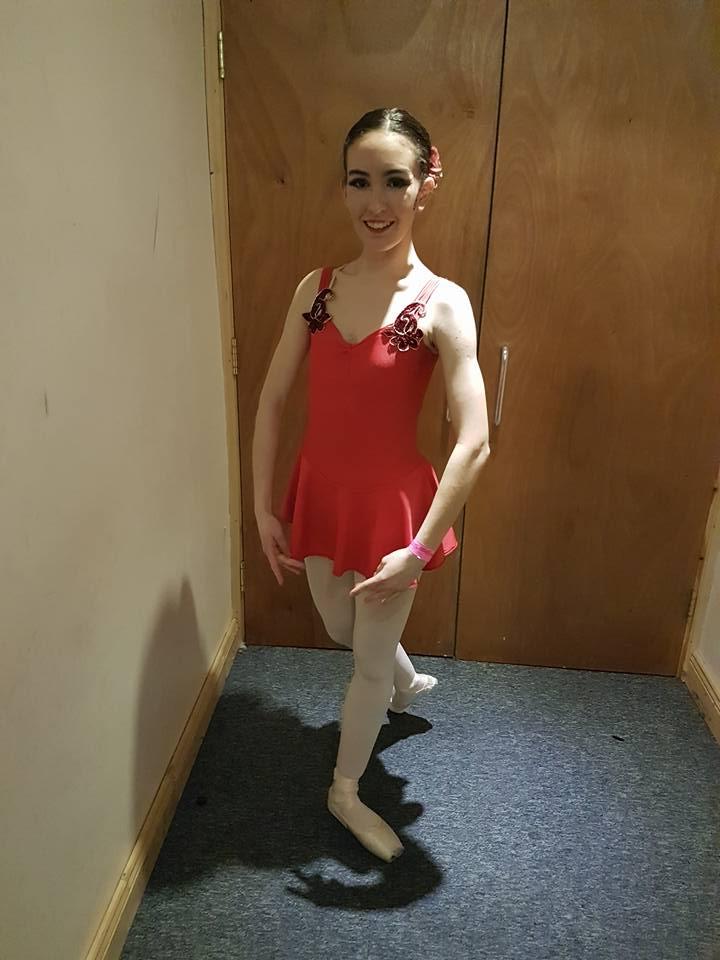 Sarah 1st Place for Carmen Ballet Solo