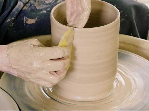 Online leren keramiek draaien, het kan!