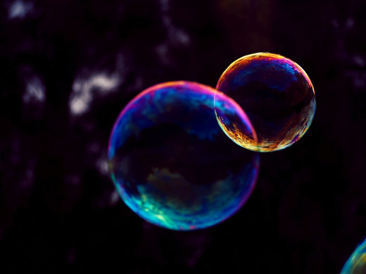 Bubble glaze