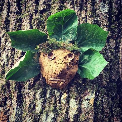 clay green man