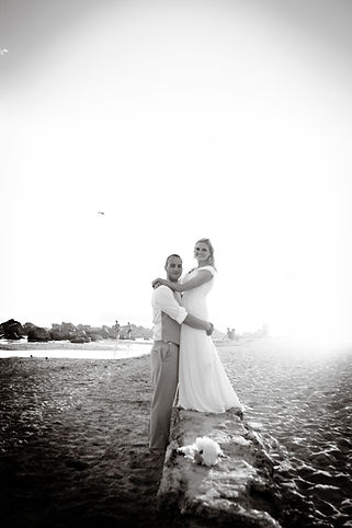 Couple Elopes on California Beach