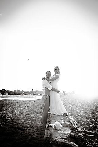Couple Elopes on California Beach