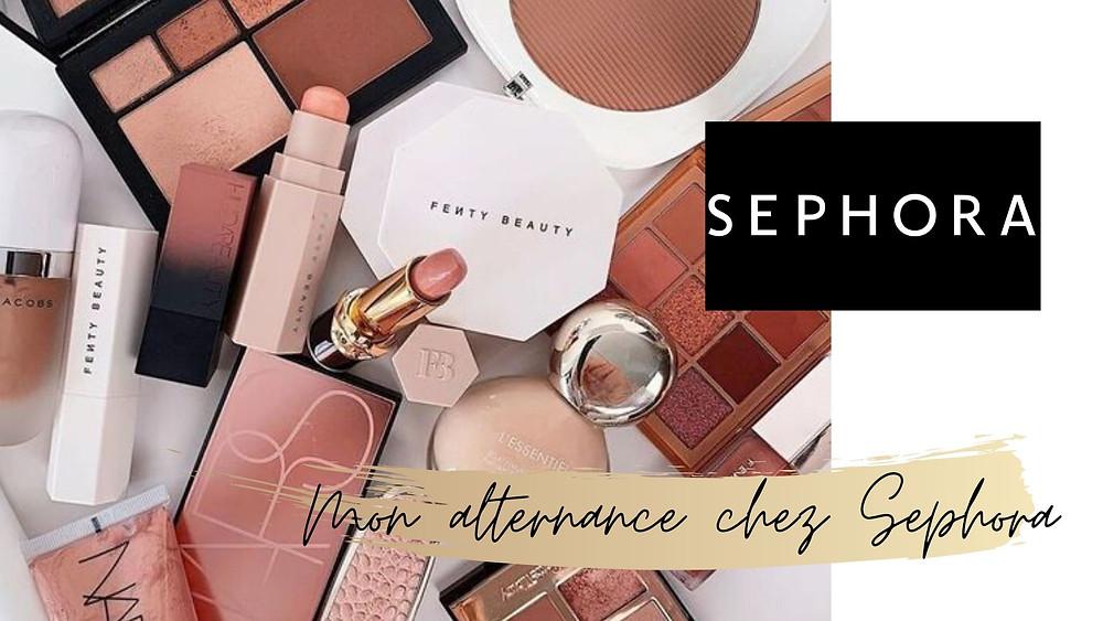 Travailler en alternance chez sephora / études dans la mode