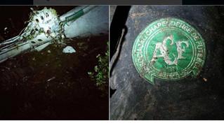 El avión del Chapecoense se estrella en Colombia: 6 supervivientes y 75 muertos