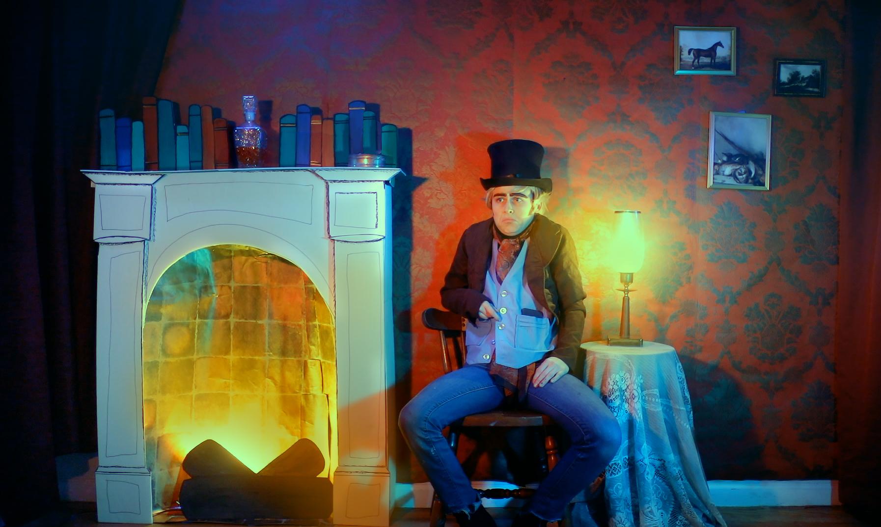Scrooge Livingroom