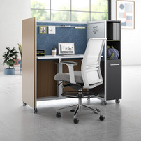 kimball work cart for open plan office f