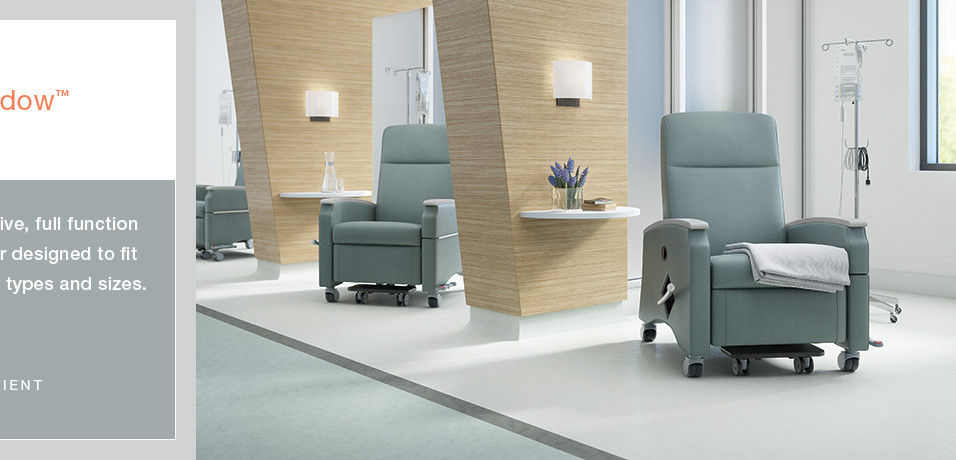 healthcare recliner for patient rooms ex